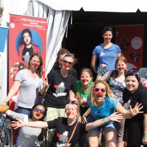 Clowns Sans Frontières au festival Solidays - 2016