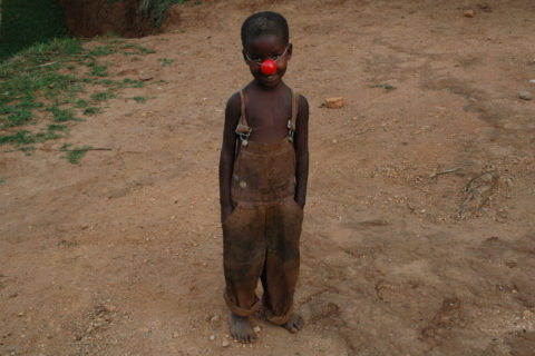 Clowns Sans Frontières - Pierrot Men - Rwanda 2005