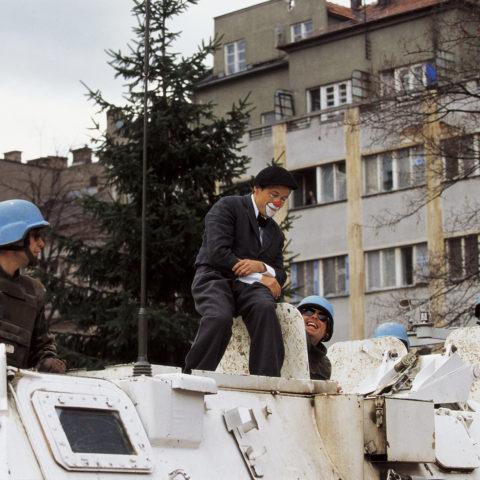 Clowns Sans Frontières - Malik Nahassia - Bosnie 1995