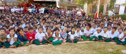 Birmanie - Décembre 2012