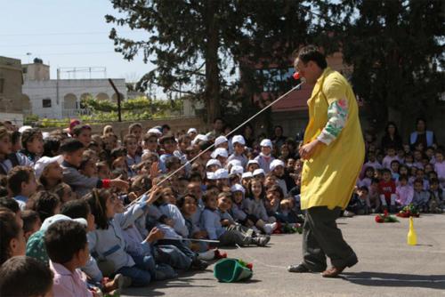 Clowns Sans Frontières © Jaco Bidermann - Liban 2006
